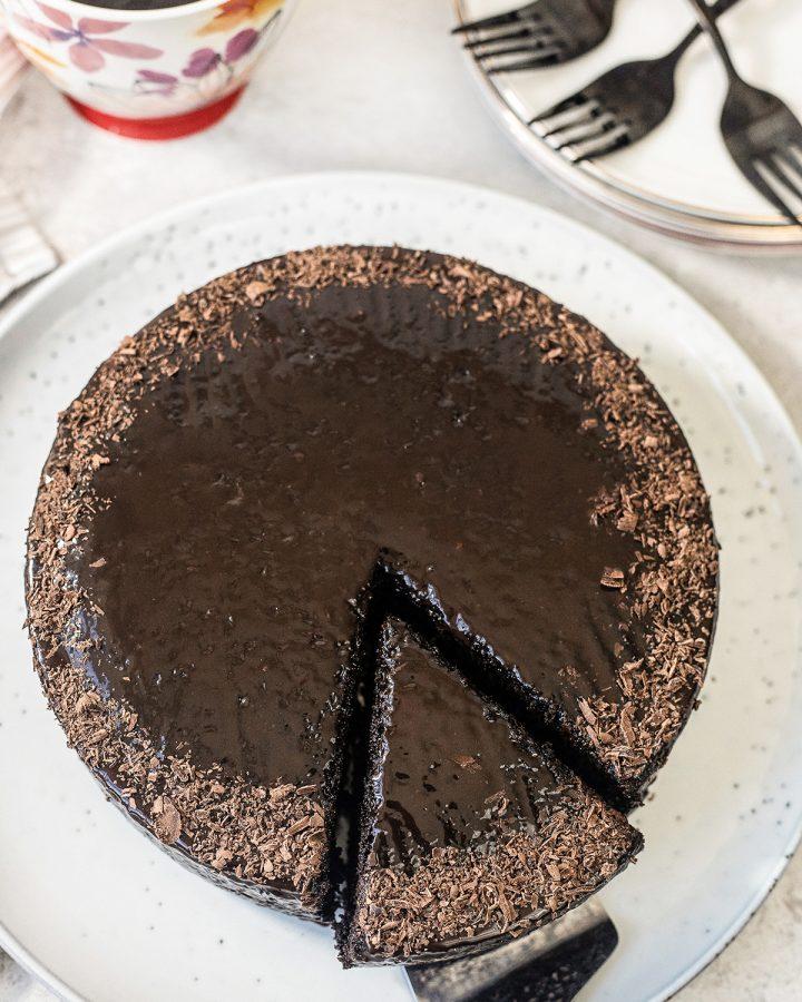 3-Ingredient Chocolate Cake