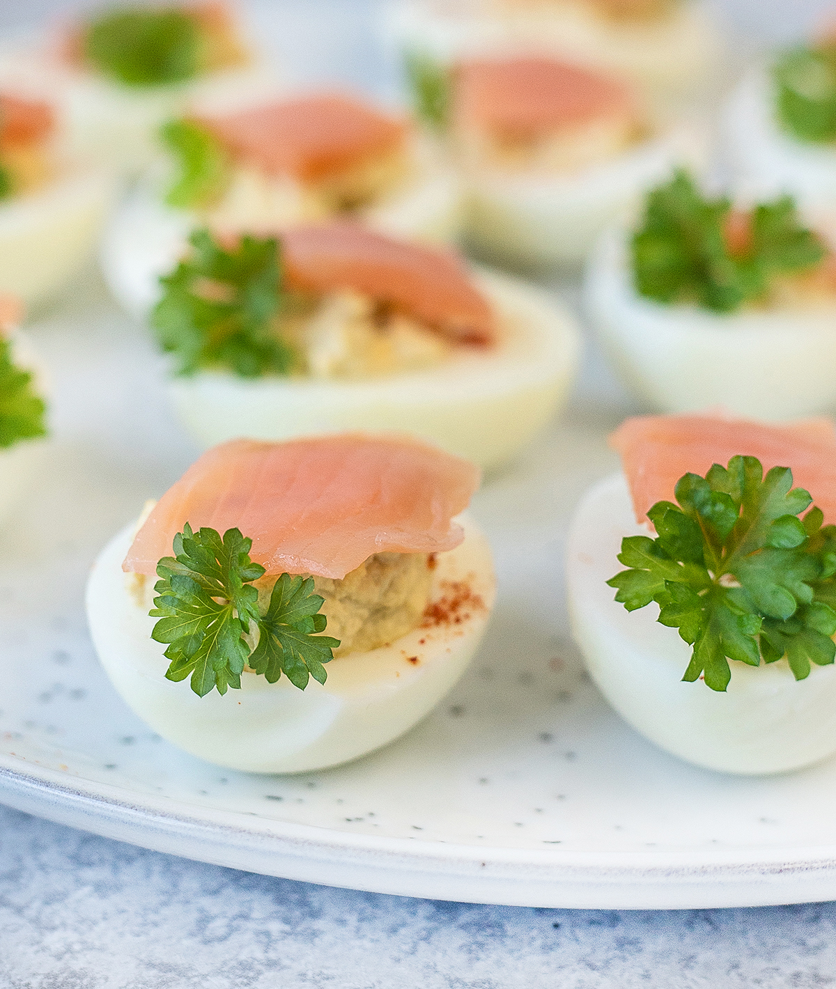 Easy Deviled Eggs Recipe - Egg Appetizers