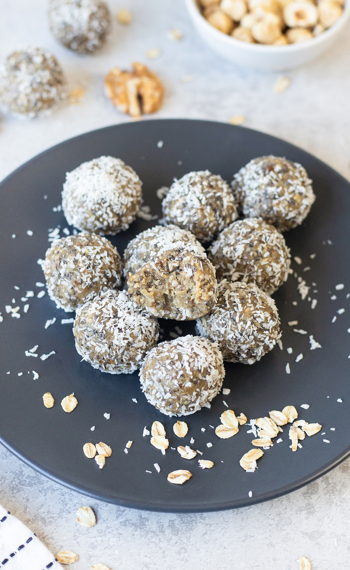 no-bake power balls are so nutritious, made with super healthy food