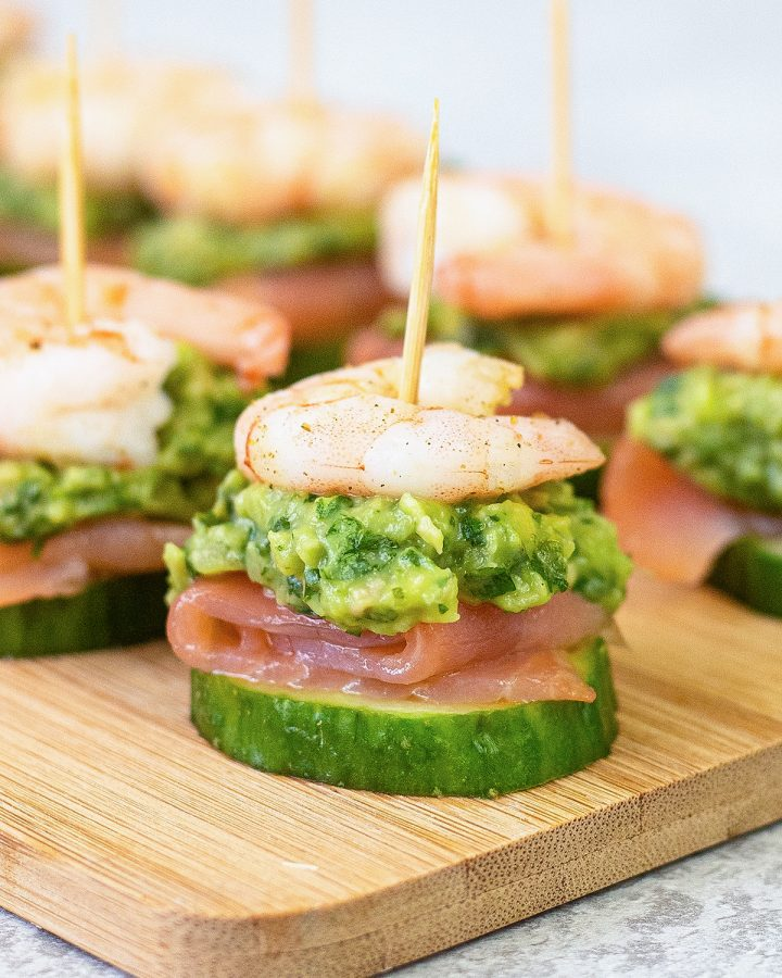 This shrimp appetizers are easy party appetizers.