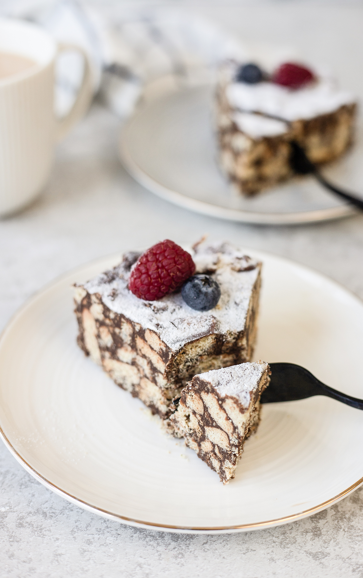 Lazy Cake is a delicious and easy dessert