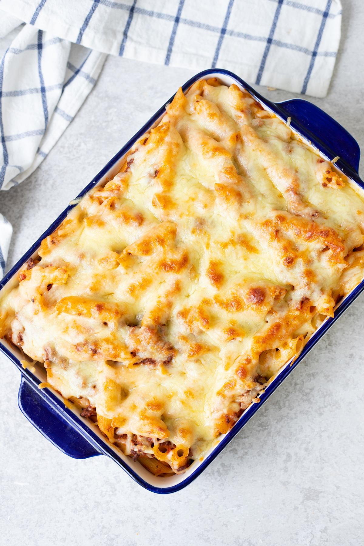 Pasta al Forno is a classic Italian baked pasta dish.