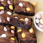Easter Mini Egg Brownies
