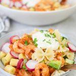 Italian Shrimp Pasta Salad