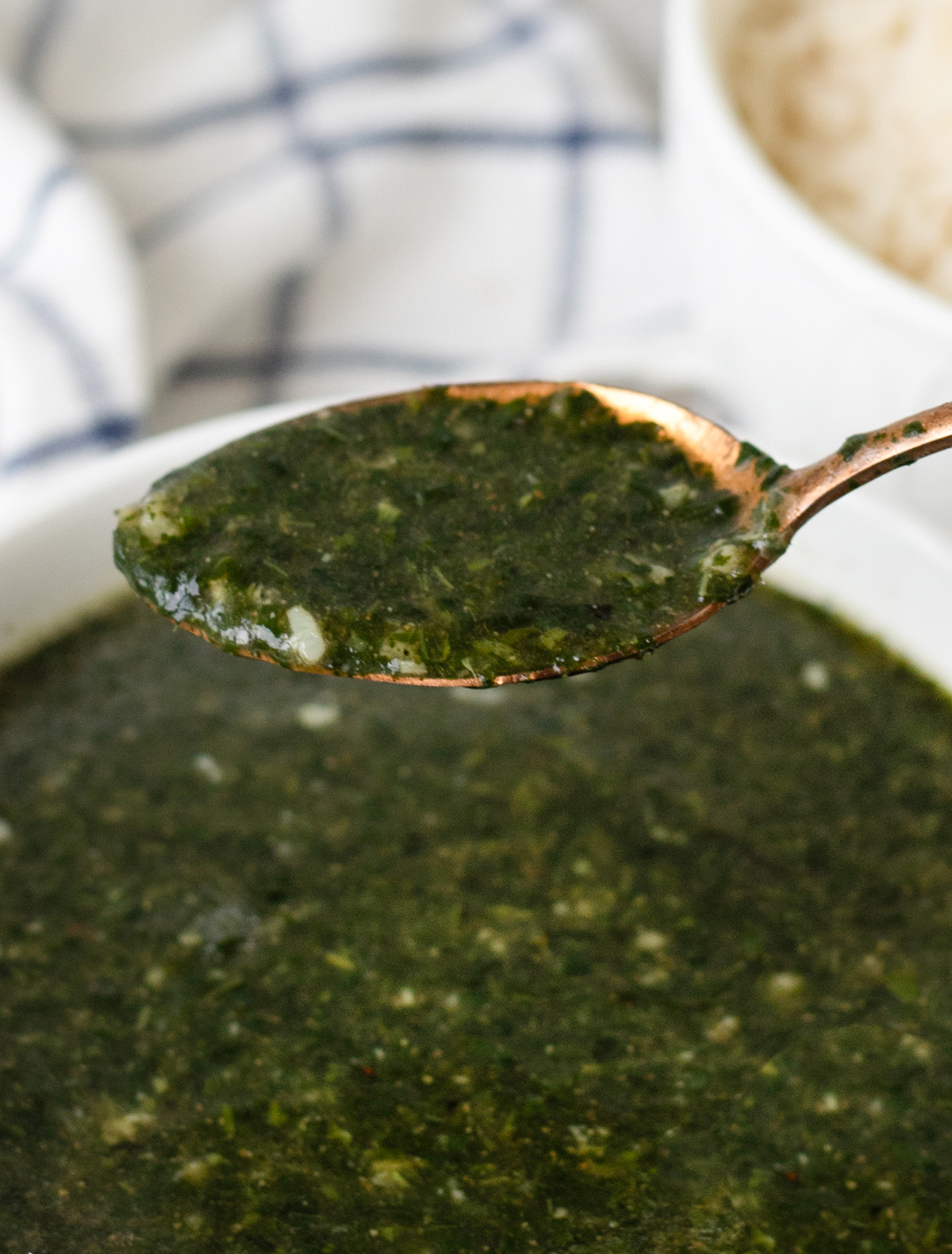 A spoonful of Molokhia