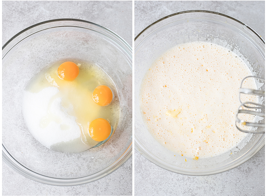 combine flour, cornmeal, salt, and baking powder