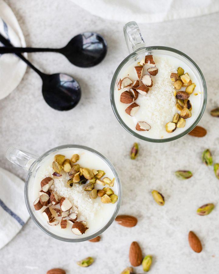 Sahlab (Mediterranean Milk Pudding)