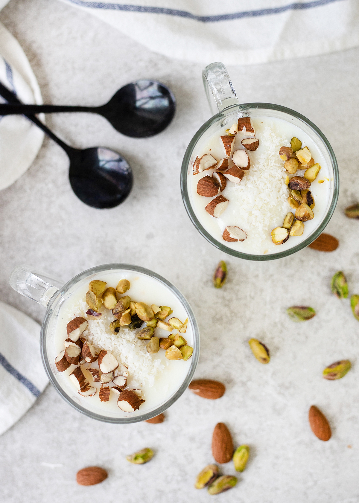 Sahlab is a rich and creamy hot drink
