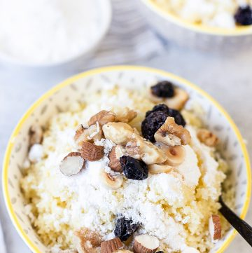 Sweet Couscous - Easy Dessert Recipe
