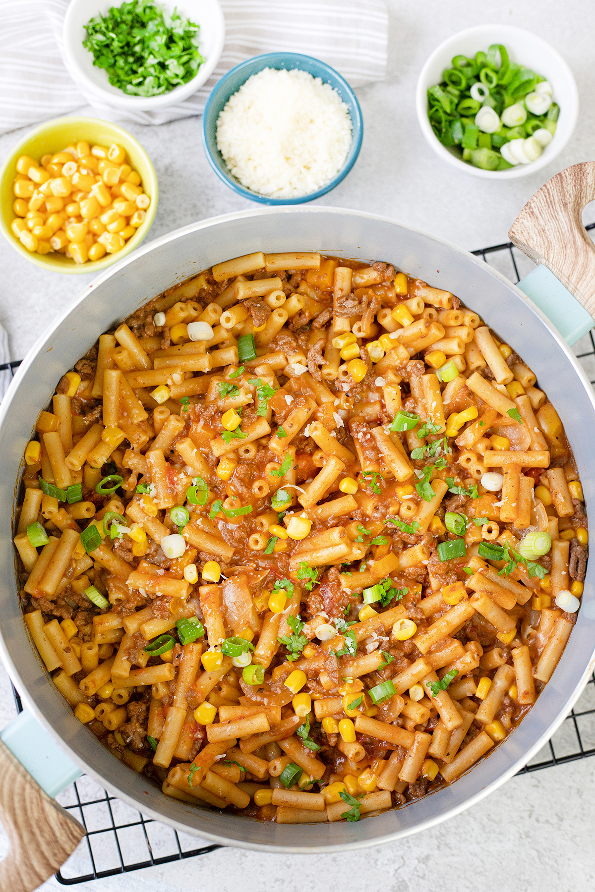 This Taco Pasta is an easy dinner recipe
