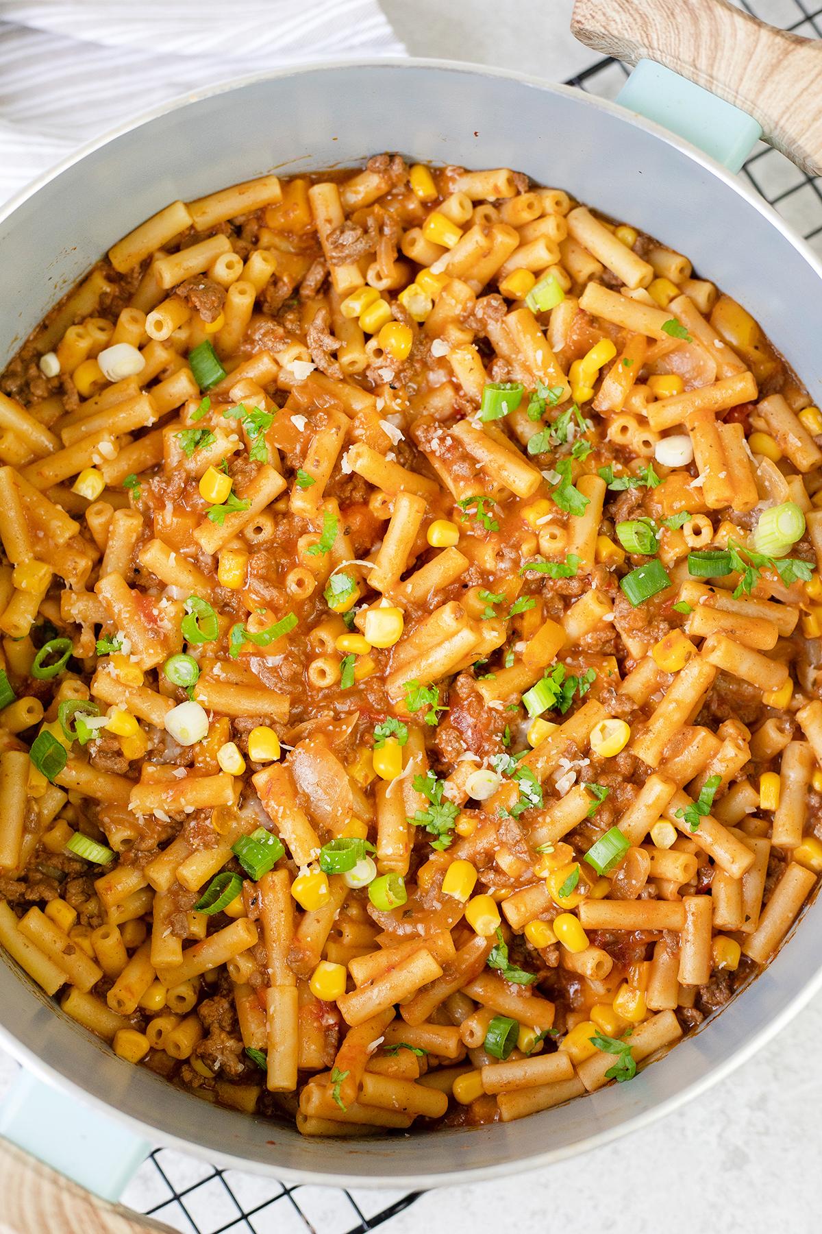 Taco Pasta - One-Pot Recipe