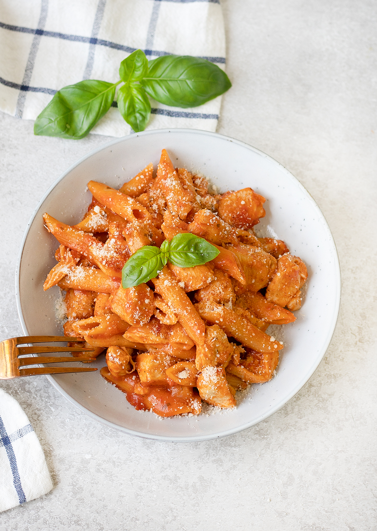 Chicken Arrabbiata Pasta