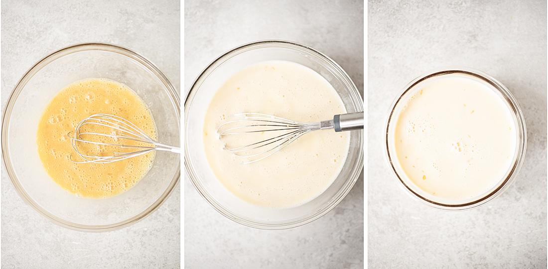 Mixing up of Liquid Ingredients