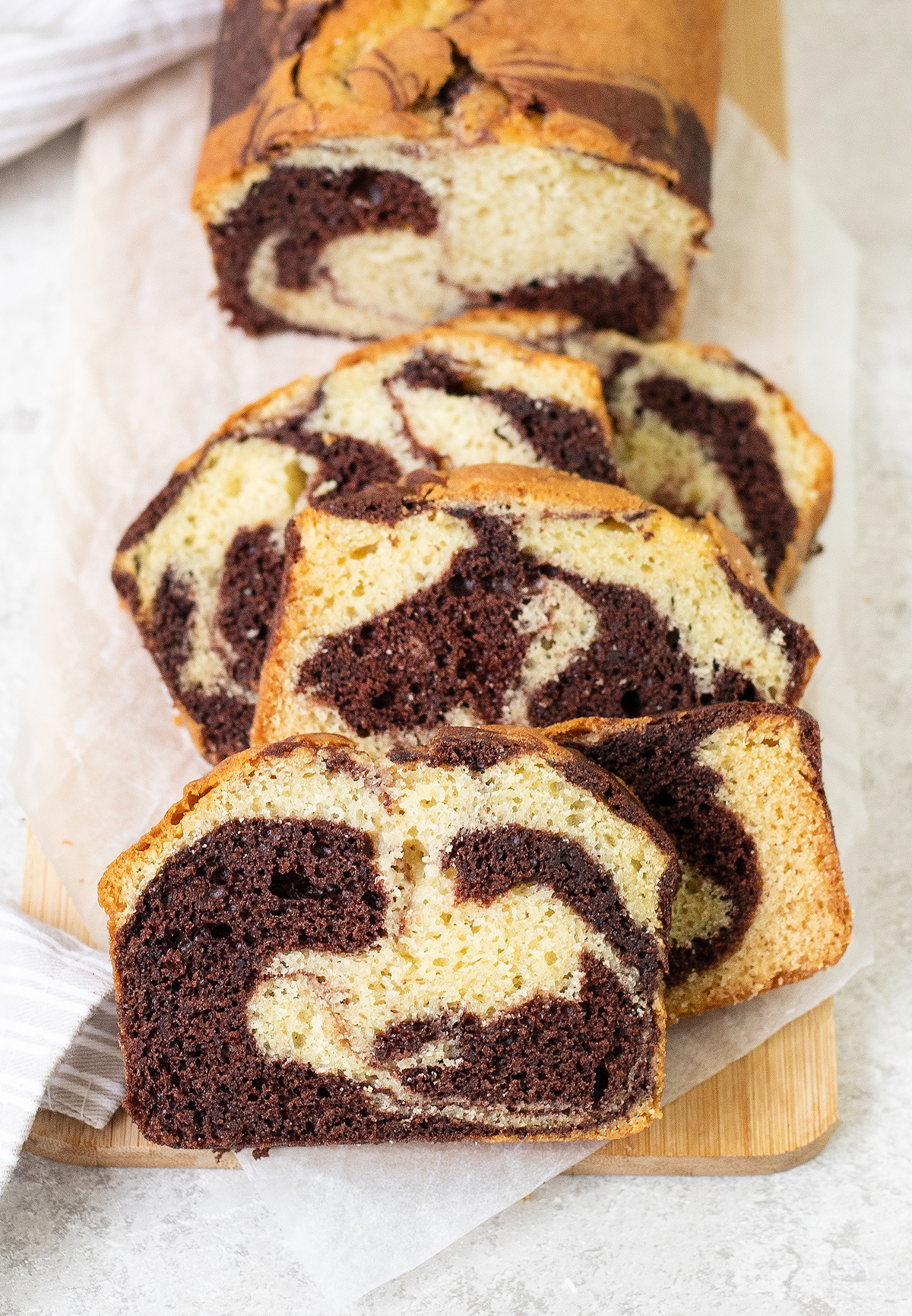 Chocolate Marble Loaf is rich, fluffy, and extraordinarily beautiful.
