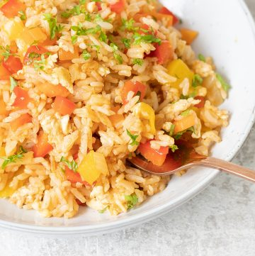 Egg And Vegetable Fried Rice