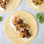 Mexican Chicken Quinoa Wraps