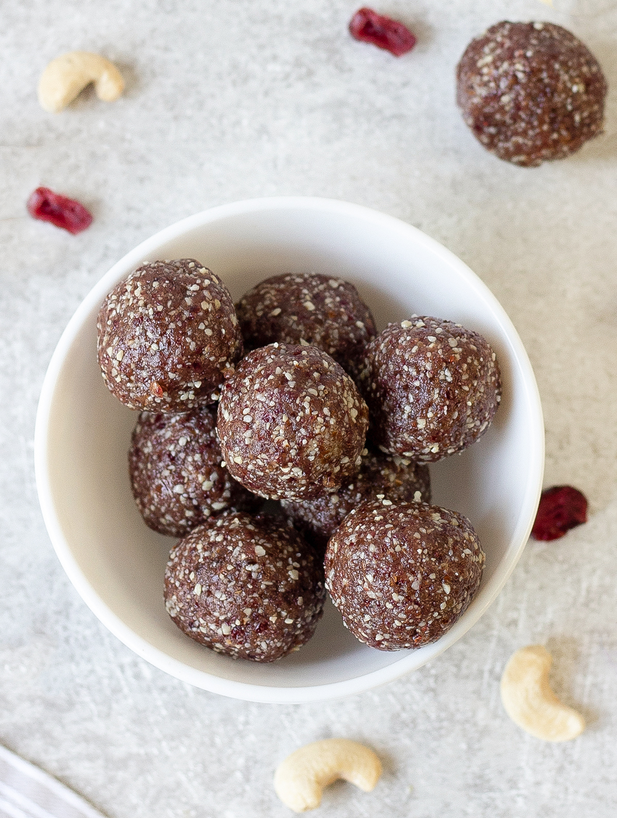 Nuts and Date Energy Balls