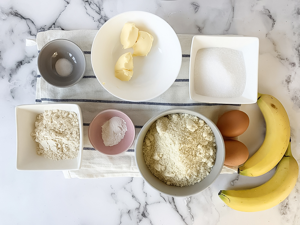 the cake ingredients