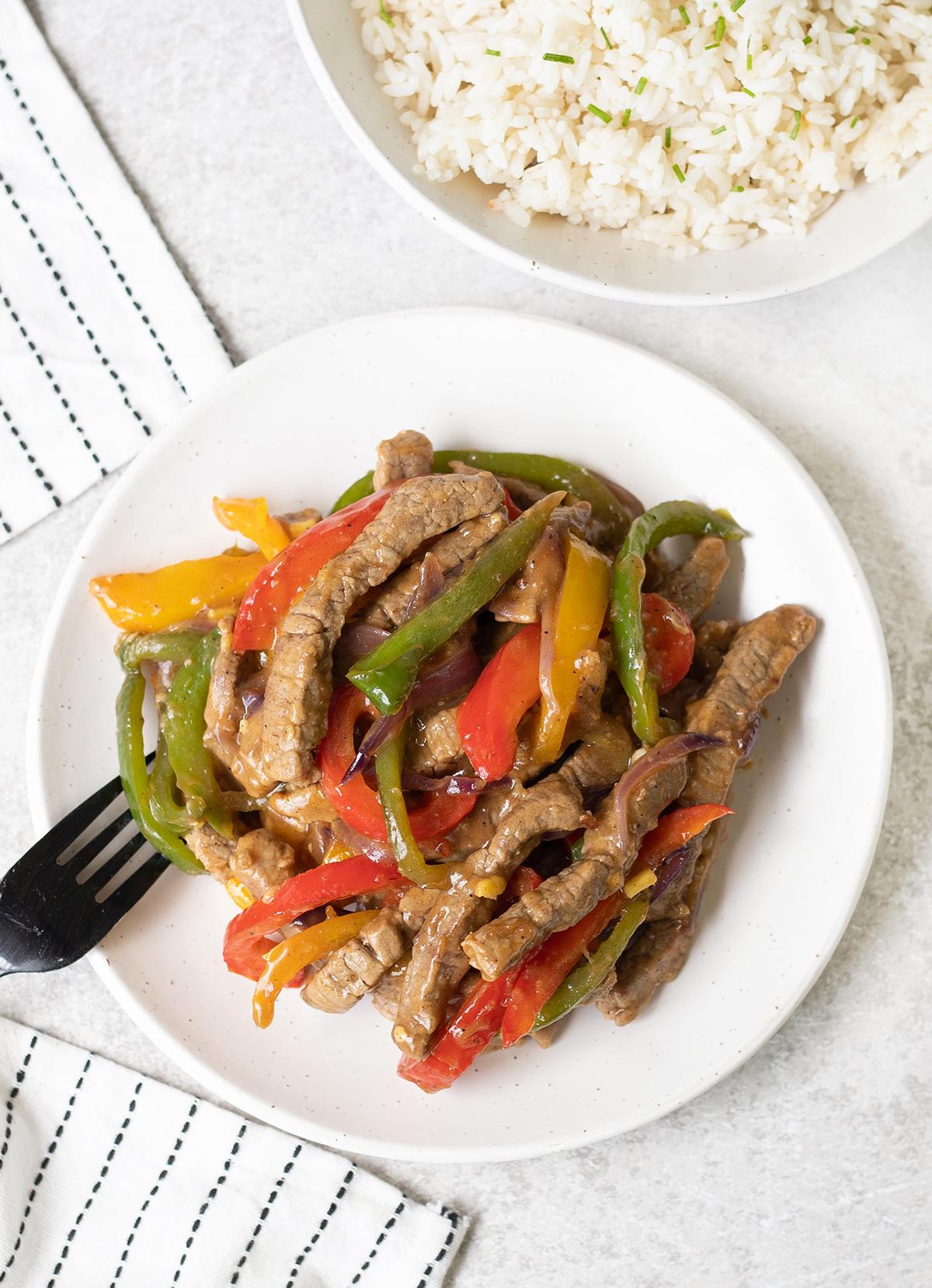 Black Pepper Beef Recipe