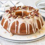 Sweet Potato Cake with Maple Icing